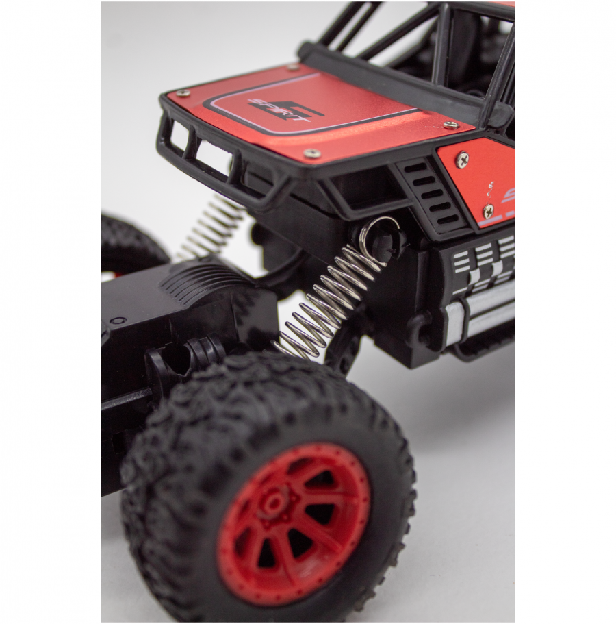 Red remote car